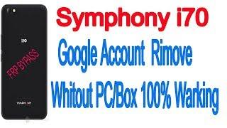 symphony i70 frp remove - मुफ्त ऑनलाइन वीडियो