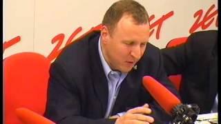 Jacek Kurski w Radiu ZET popisuje się angielszczyzną
