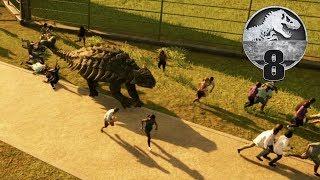 Jurassic World Evolution - Part 8 - JURASSIC STAMPEDE