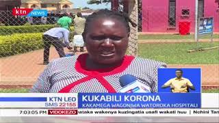 Wagonjwa watoroka hospitalini Kakamega baada ya mgonjwa aliyeshukiwa kuwa na Corona kufikishwa