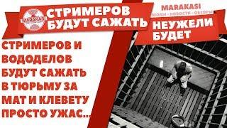 СТРИМЕРОВ И ВОДОДЕЛОВ БУДУТ САЖАТЬ В ТЮРЬМУ ЗА МАТ И КЛЕВЕТУ, ПРОСТО УЖАС... World of Tanks