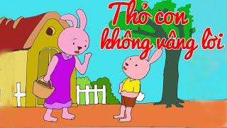 Truyện Thỏ Con Không Vâng Lời - Chuyện Kể Bé Nghe  [Full HD]