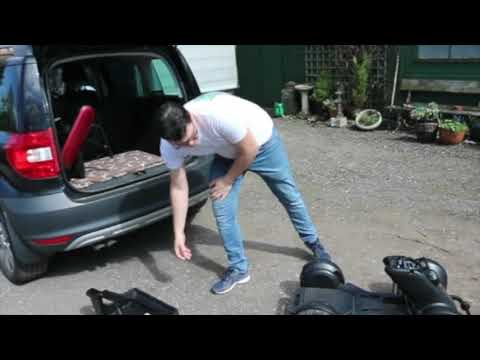 Easy loading of the WHILL Model C powerchair into a car boot YouTube video thumbnail