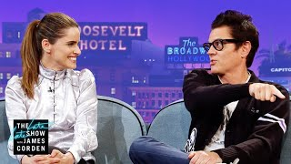 Johnny Knoxville & Amanda Peet Are Very Competitive Parents - Video Youtube