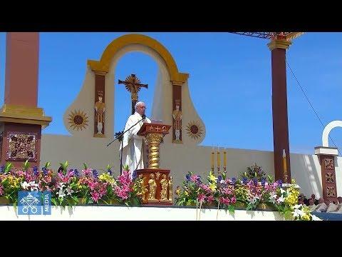 La dernière messe du pape François au Chili