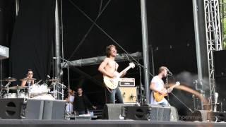 2015 Jett Rebel at Wantijpop Dordrecht June