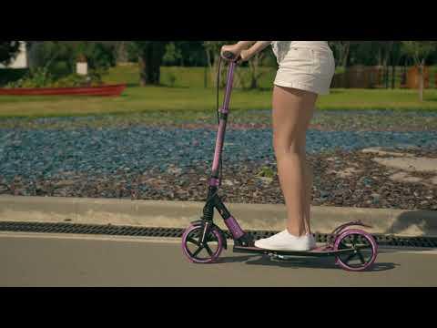 Самокат городской RUSH ACTION колеса 200 мм
