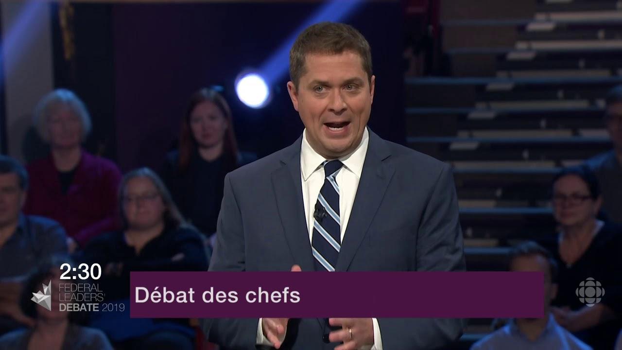 Les chefs débattent sur le rôle du Canada dans le monde