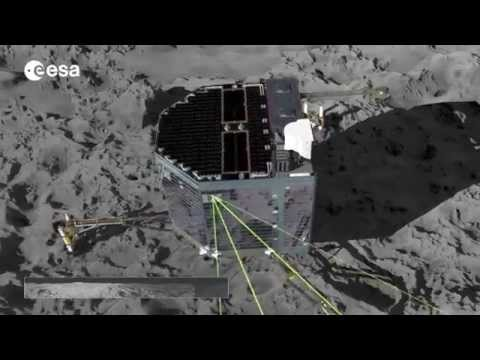 Philae's panoramic camera