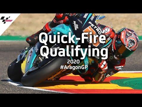 ファビオがポールポジションを獲得!MotoGP アラゴンGP 予選のハイライト動画