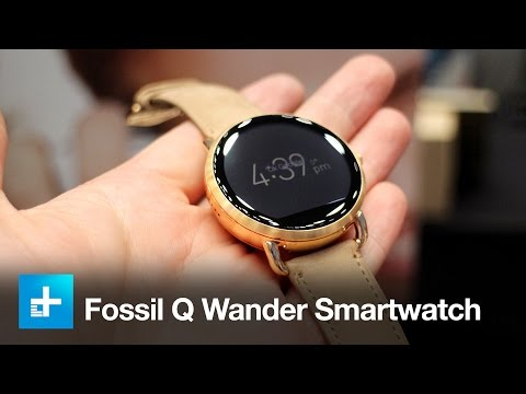 Fossil Q Wander Smartwatch - Hands On - IFA 2016