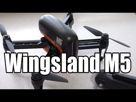 Wingsland M5 GPS Drone Initial Review