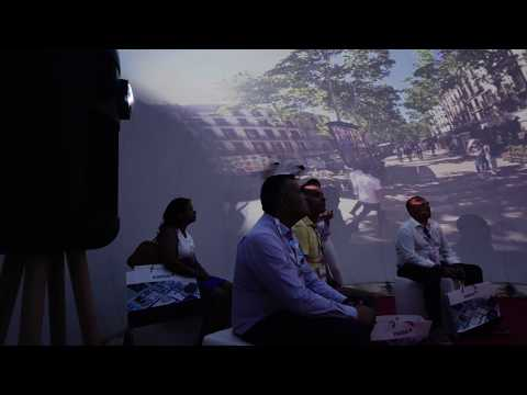 Immersive Dome at SIL2019-Barcelona
