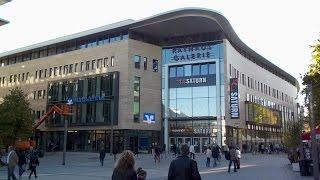 preview picture of video 'Hagen/Westfalen Probleme bei Eröffnung des neuen Einkaufszentrums Rathaus-Galerie 14.10.2014'