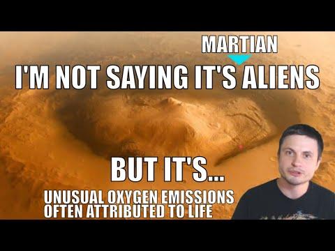 Recente Mars-ontdekking door NASA kan worden veroorzaakt door buitenaards leven