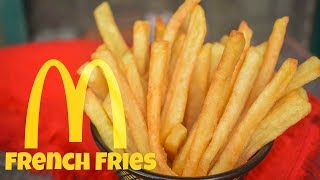 How To Make McDonalds French Fries Recipe At Home | Homemade French Fries Recipe | Hindi/Urdu