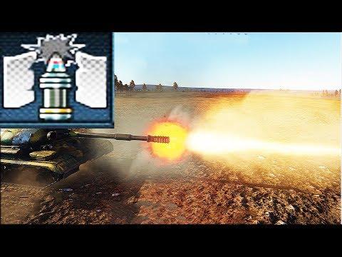 The russian tank T-10M HEATFS shell Kill Montage ( War