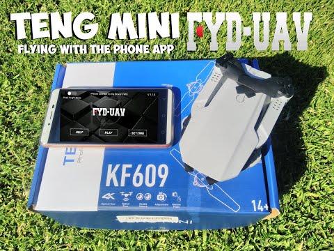 KF609 Teng Mini - Flying with the FYD UAV Phone App