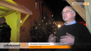 preview picture of video 'Der kleinste Weihnachtsmarkt - Drogenmühle 2013'