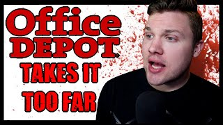 DO NOT Work At Office Depot | They Take It Too Far | Endangering Employees | OfficeMax