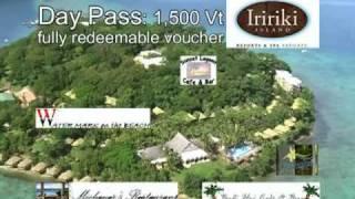 preview picture of video 'Vanuatu Resort -- Iririki Day Pass'