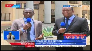Reasons why opposition leaders may boycott President Uhuru's last state of the nation address