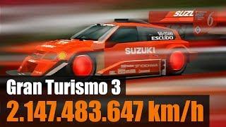 2 MILLIARDEN KM/H! Gran Turismo 3 Glitch [PS2, Bug, deutsch]