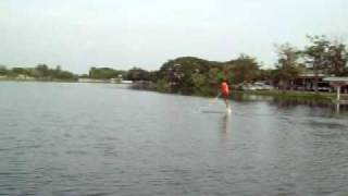 preview picture of video 'Aquaskipper in Thailand By Mr Jack at Sattahip Chonburi water bird'