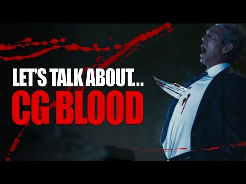 Počítačem vytvořená krev ve filmech