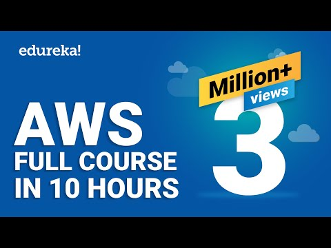 AWS Tutorial For Beginners - Learn AWS In 10 Hours | AWS Training