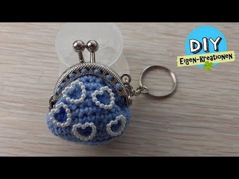 Täschchen als Schlüsselanhängr / DIY Eigen Kreationen