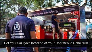 Buy Car Tyres online | Doorstep Tyre Fitting | Tyrewaale