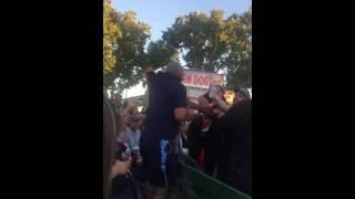 Fight At Ashanti Concert
