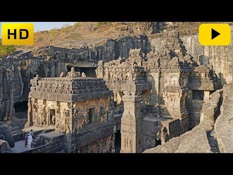 De verbijsterende, door rotsen uitgehouwen tempels van India
