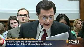 C-SPAN: Stephen Colbert Opening Statement
