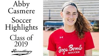 Abby Casmere Soccer | Class of 2019 | Forward Midfielder Defense | Fall 2017 Highlights ⚽