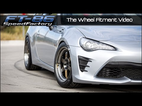 FT86SpeedFactory - Wheel Fitment Guide