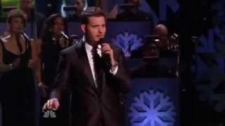 Michael Buble christmas in new york 2014