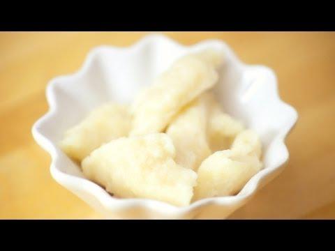Polish Laid Dumplings - Kluski Kladzione -  Recipe #98