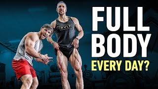 Why Training Full Body 5x Per Week Is Smart: Science-Based Workout ft. Dr. Eric Helms