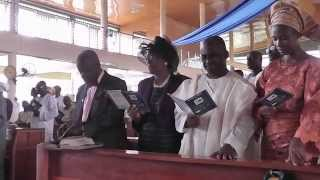 preview picture of video 'OAU 50TH Anniversary Church Service'
