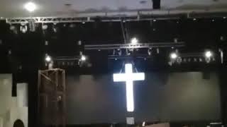 Pemasangan Salib Acrylic by Aditya 089619395080