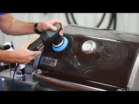 Barbeque Grill Detail Part Two   Polishing & Protecting   - YouTube - YouTube