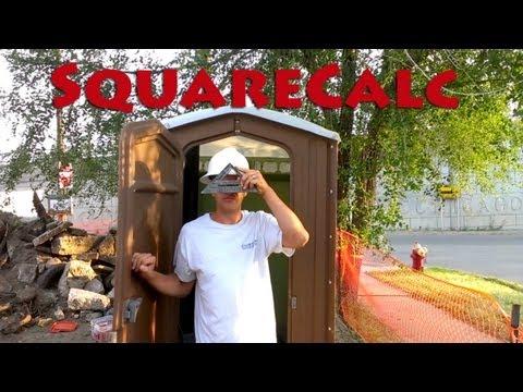 Video of SquareCalc Construction Calc