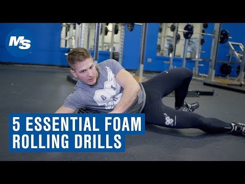 Foam Roller Warm Up Exercises