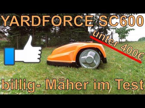 Mähroboter für unter 399€ - Der Yardforce SC600 / Aldi GARDEN FEELINGS im Test
