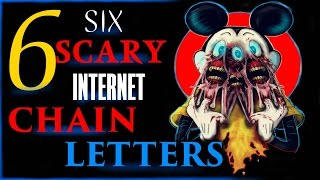 6 SCARY INTERNET CHAIN LETTER STORIES  To CHILL Your Bones  Part 1