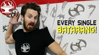 We Made Every Batarang Ever?!