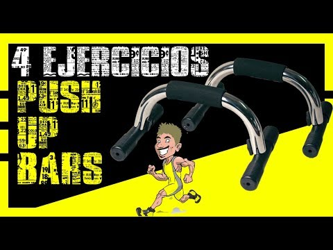 PONTE FITNESS / PUSH UP BARS 4 EJERCICIOS