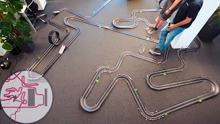 600 Yards of Slot Car Track - Just Another Day at the Office
